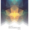 abstract background with mosaic shapes vector image vector image