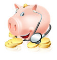 financial health check vector image