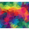 flat geometric triangle wallpaper vector image vector image
