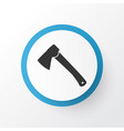 hatchet icon symbol premium quality isolated axe vector image