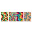 liquid marble textured backgrounds wavy vector image vector image