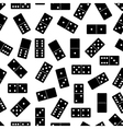 seamless domino background vector image vector image