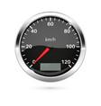 speedometer 3d vector image