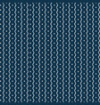 the blue seamless background with ethnic pattern vector image