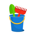 toys for sandbox design vector image vector image