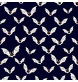 Abstract bats pattern vector image