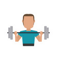 athlete sport avatar icon image vector image vector image