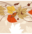 autumn design background vector image vector image