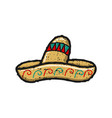 mexican hat for tacos logo designs inspiration vector image vector image