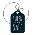 shopping super sale icon vector image