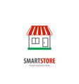store logo for business company simple store vector image vector image