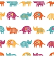 African animals cute seamless pattern vector image