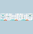 babysitting services brochure template layout vector image