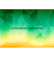Easter Abstract Background vector image vector image