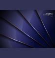 elegant blue metallic glossy background vector image vector image