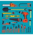 Hardware tools set vector image vector image
