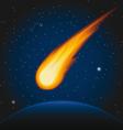 meteor2 vector image vector image