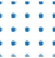 mug icon pattern seamless white background vector image vector image