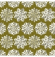 Origami snowflake seamless pattern Christmas New vector image