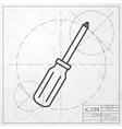 phillips screwdriver icon vector image vector image