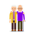 two men hugging male friendship friends standing vector image
