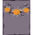 Violet Halloween background vector image vector image