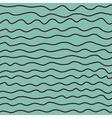 Sea wave ocean seamless pattern background vector image
