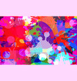 abstract background color stains paints vector image vector image