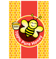 Bees vector image vector image