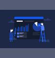 concept e-commerce vector image vector image