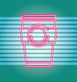drinks neon sign vector image