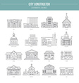 Governmental Buildungs vector image