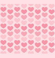 heart background rose seamless love pattern vector image