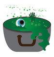 monster in a pot vector image