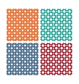 seamless patterns or textures set with vector image vector image