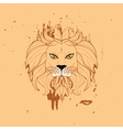 Stylized Lion Head5 vector image vector image