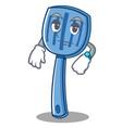 waiting spatula character cartoon style vector image vector image