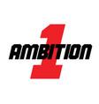 ambition sticker stamp