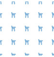 baby chair icon pattern seamless white background vector image vector image