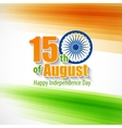 Creative Indian Independence Day concept vector image vector image