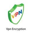 vpn encryption vector image