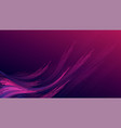 abstract gradient purple pink curve wave stripes vector image vector image