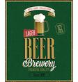 beer2 vector image vector image