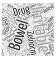 Irritable Bowel Syndrome Zelnorm Drug Word Cloud vector image
