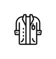 lab coat icon vector image vector image