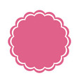 seal stamp icon vector image vector image