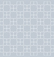 seamless geometric pattern vintage curved on gray vector image vector image