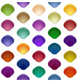 seamless colorful seashell template background vector image