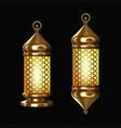 arabic lamps gold arab lanterns with ornament