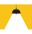 ceiling lamp vector image